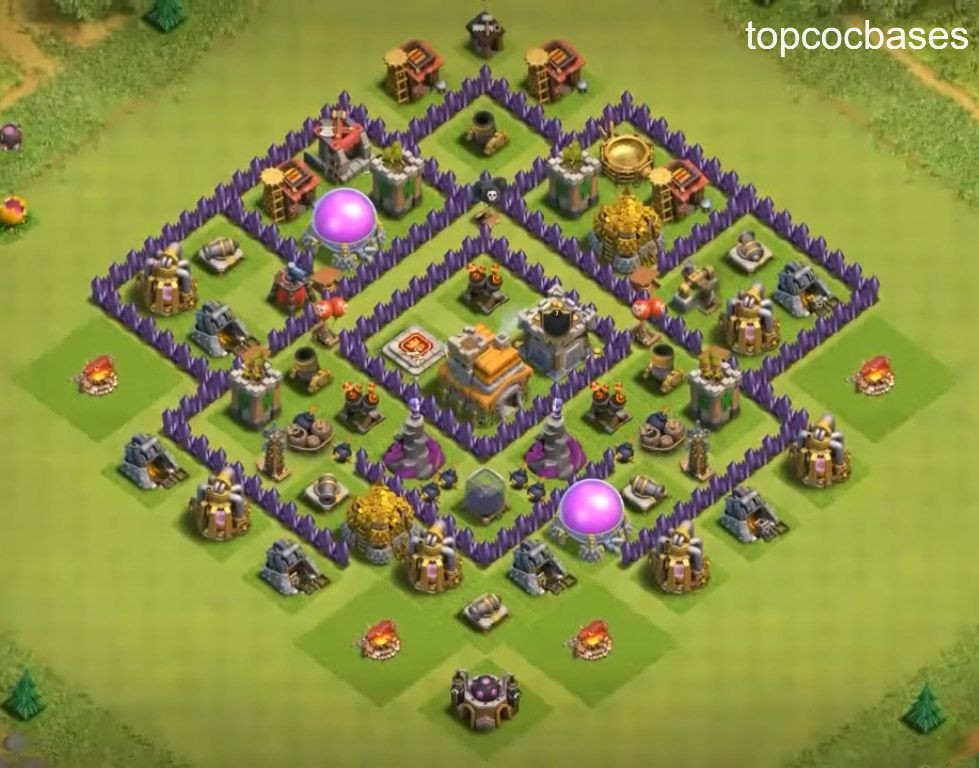 Top Town Hall 7 ( Th7) Trophy Bases 2020 - Top COC Bases