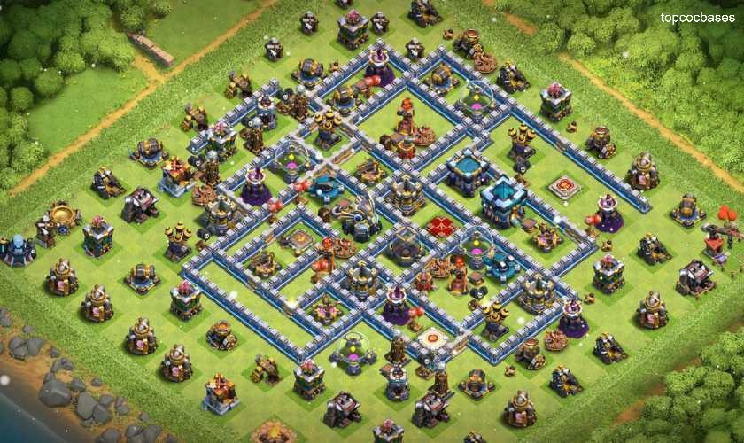 Top Town Hall 13 (Th13) Farming Bases 2020