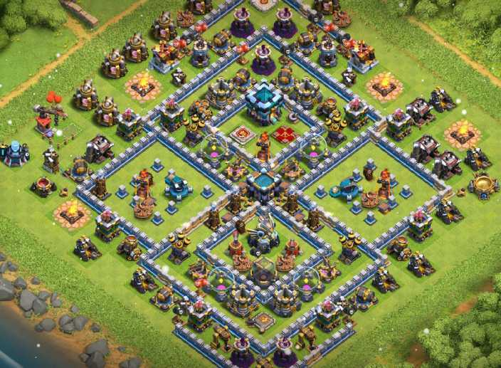 Top Town Hall 13 (Th13) Trophy Bases 2020