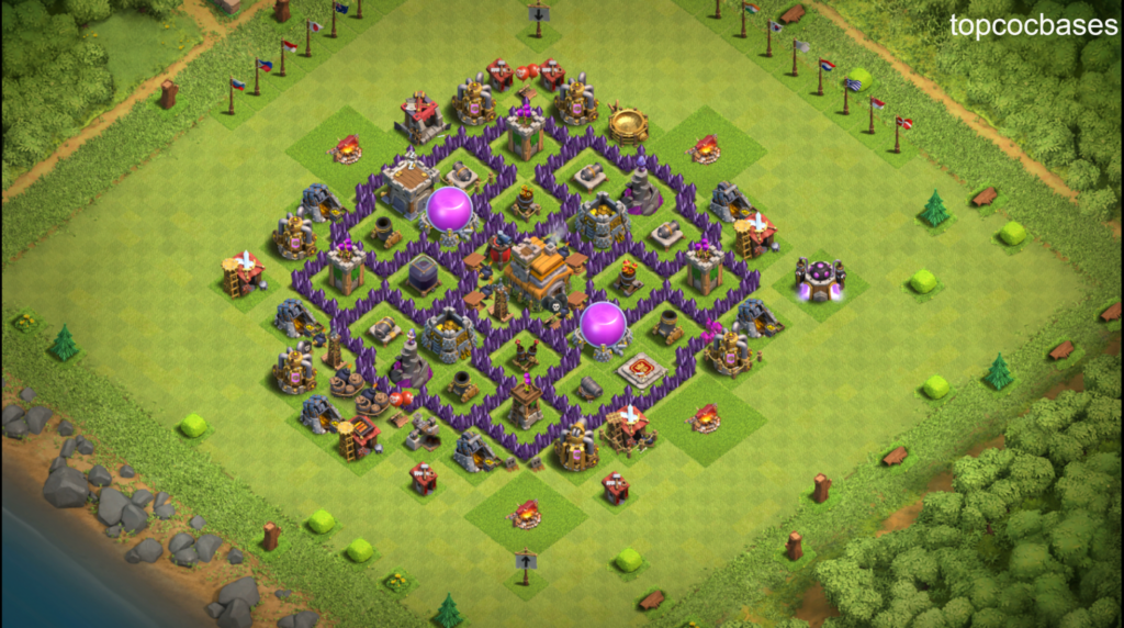 Best Town Hall 7 Th7 Bases Top Coc Bases