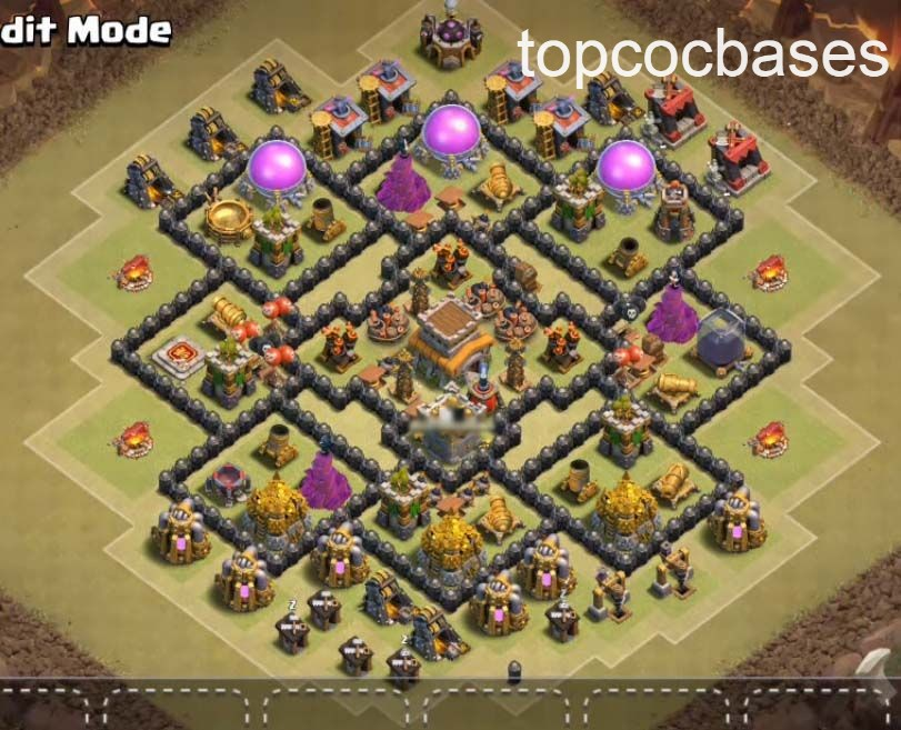 Best Town Hall 8 Bases (Th8) 2020 - Top COC Bases