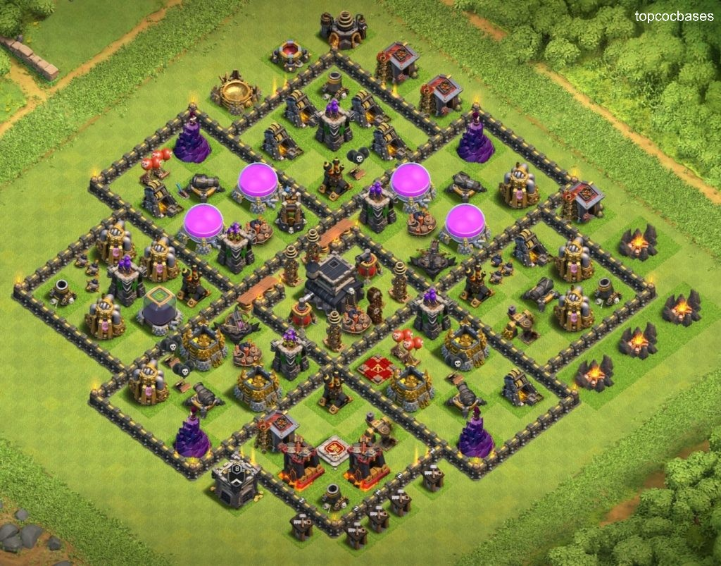Top 13+ Town Hall 9 (Th9) Farming Bases 2020 - Top COC Bases